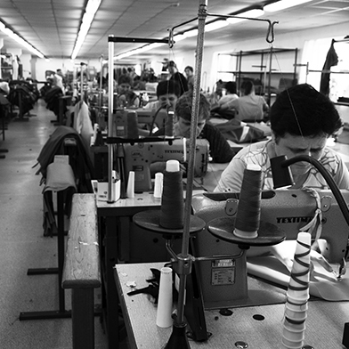 Workers in H&M Factory